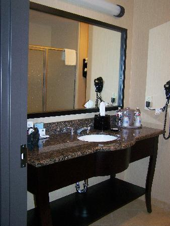Hampton Inn & Suites Waco South: Bathroom