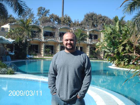 Paradise Inn Beach Resort : Pool view