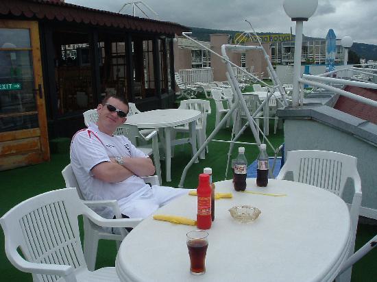 Sirena Hotel: sky bar