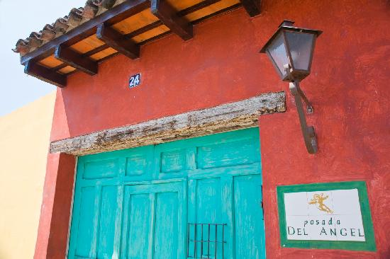 Posada del Angel: The Front Door