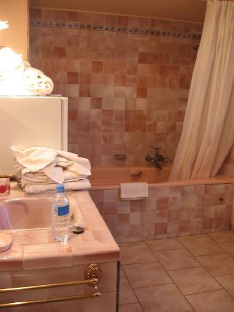 Jonquieres, França: our bathroom