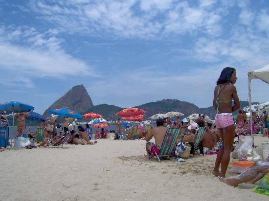 Hotel Novo Mundo: Plage du Flamengo