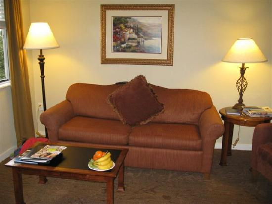 HYATT house San Ramon: lounge room