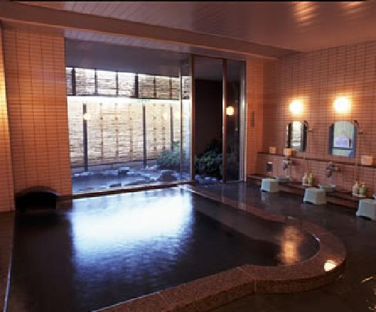 Yumura Hotel B&B: 自家源泉かけ流しの志磨の湯