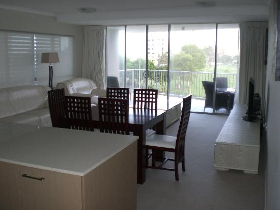 Karmasea Luxury Apartments: Kitchen, Living room 21