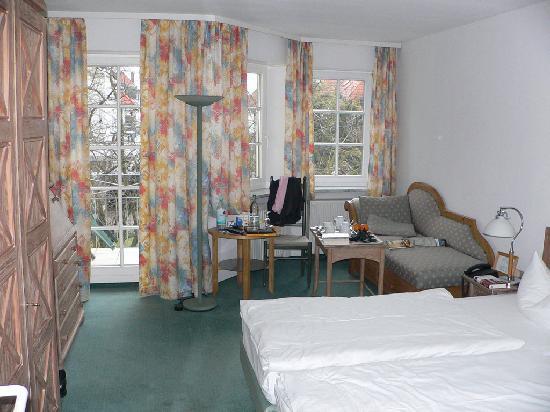 Hotel 2 Länder: Unser komfortables, helles Zimmer vom Typ
