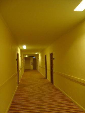 Hip Bangkok: Corridor of the 10th floor