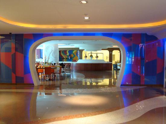 Hip Bangkok: Entrance to the restaurant