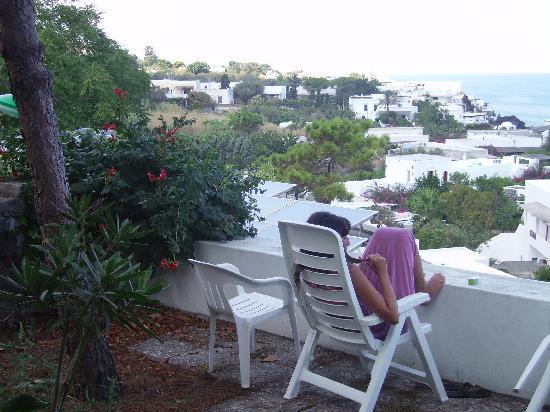 "Hotel Miramare: Panorama dal ""terrazzo"" del residence"