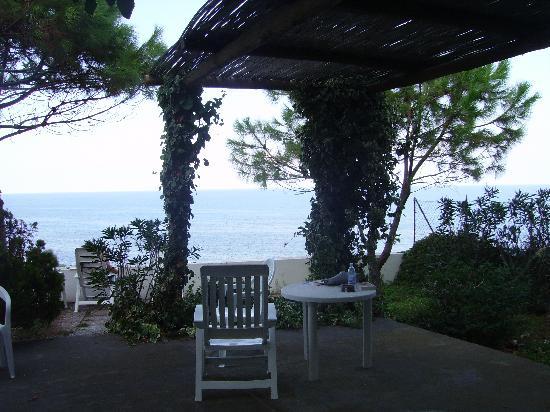 """Hotel Miramare: """"terrazzo"""" relax della nostra stanza"""