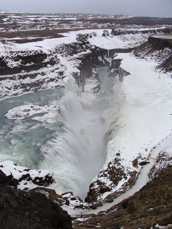 Reykjavik, İzlanda: Waterfall on the Golden Circle