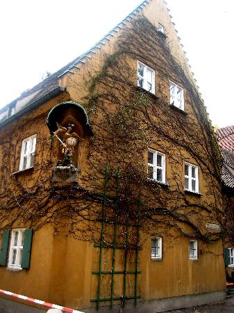 Augsburg, Tyskland: One of the houses