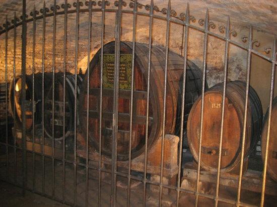 Wine cellar of Strasbourg city hospital