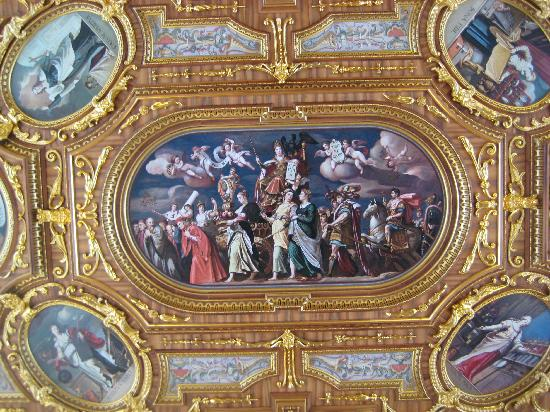 Augsburger Rathaus: Paintings on the ceiling