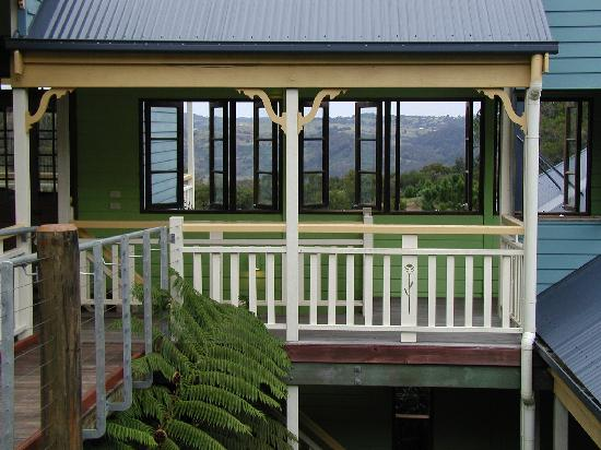 Spotted Chook Ferme Auberge: amazing views
