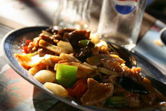 """Crveni Koralj : Chicken Schezuan from """"Wok Inn"""""""