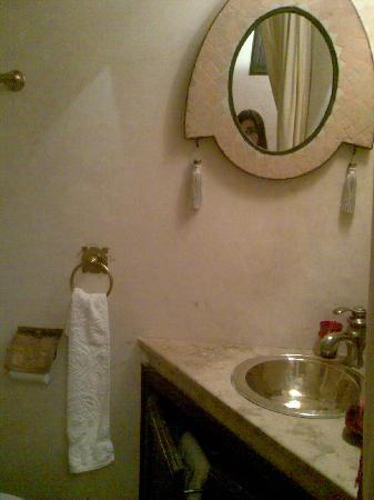 Riad Christina : baño canelle