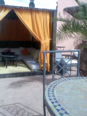 Riad Christina : terraza