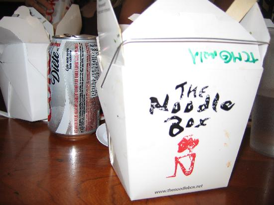 Magnolia Hotel And Spa : The Noodle Box - great food