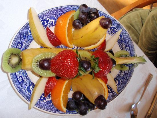 The Ellery House: fruit plate