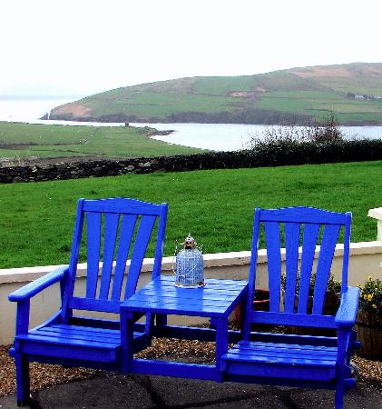 ‪‪Pax Guest House‬: View of Dingle Bay from the patio‬