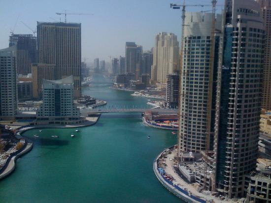 Dusit Residence Dubai Marina: view from my bedroom