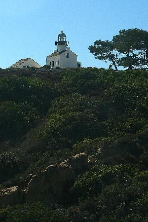 Old Point Loma Lighthouse from Cabrillo