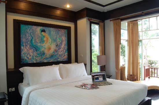 Nisa Cabana Koh Chang Resort: excitting bed room