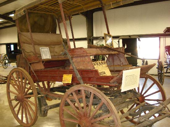 Angels Camp Museum and Carriage House: carriage