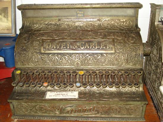 Angels Camp Museum and Carriage House: cash register