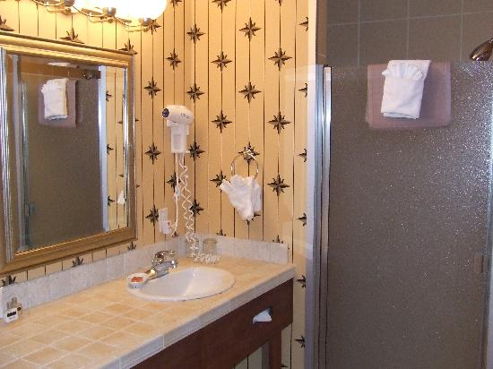 Plaza Inn & Suites at Ashland Creek: bathroom vanity