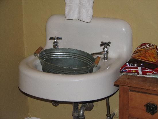 The Lowe Hotel: In room sink