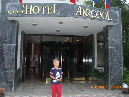 Akropol Hotel: Eingang