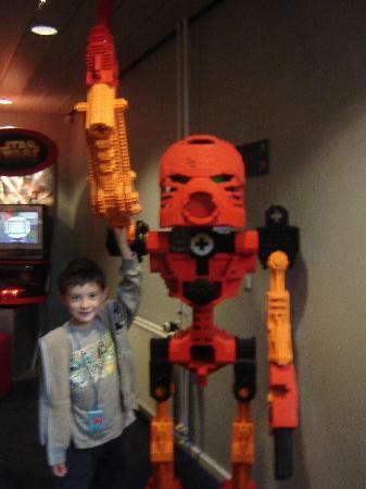 Hotel LEGOLAND: Games room in hotel