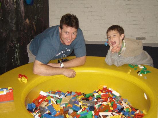 Hotel LEGOLAND: Lego Hotel Building tubs
