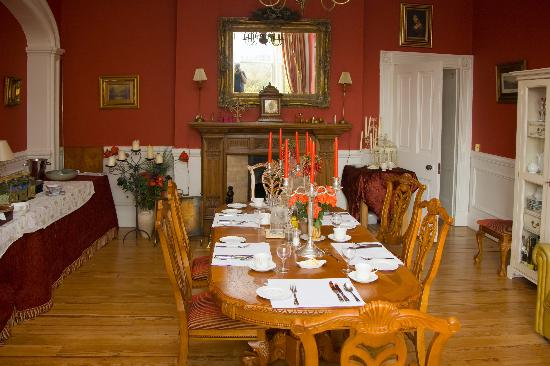 Castle House B&B: Dining Room