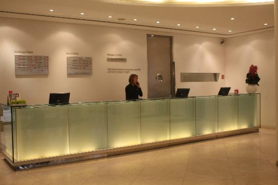Reception picture of design hotel josef prague prague for Design hotel praha