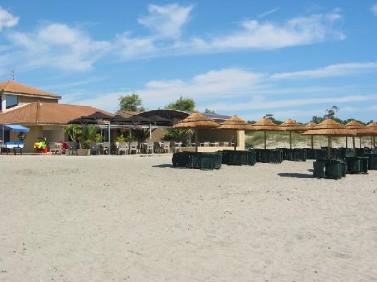 La Vallicella : Il ristorante sul mare