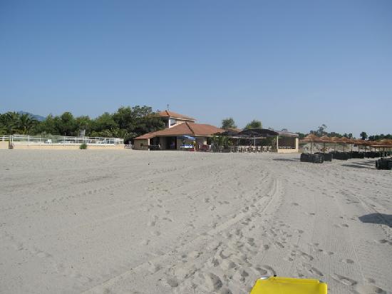 La Vallicella : La spiaggia