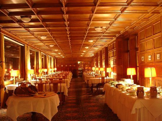 Kleine Scheidegg, Suiza: Restaurant