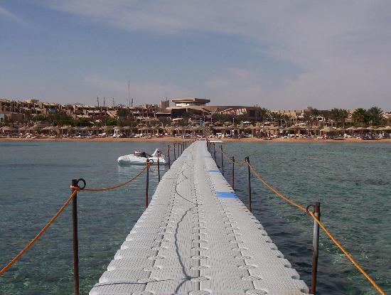 Coral Sea Sensatori - Sharm El Sheikh : View from the jetty