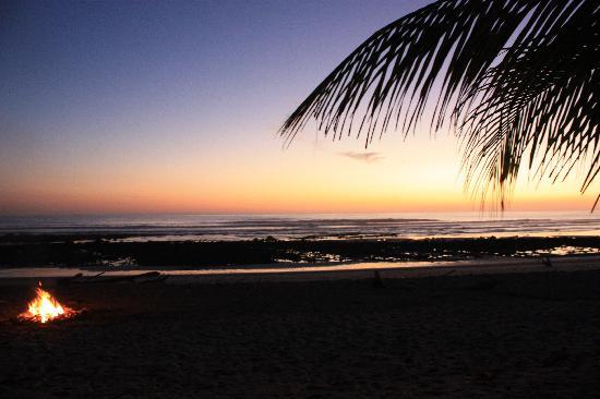 Villas Hermosas: sunset