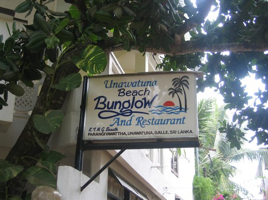 Unawatuna Beach Bungalow Hotel: beach bungalow