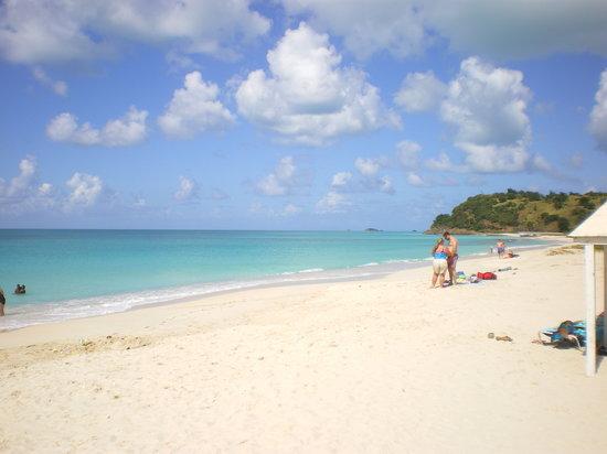 Best Beach Near To St Johns Antigua