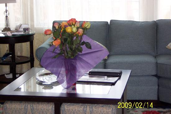 Cape Codder Resort & Spa: the flowers provided by the staff