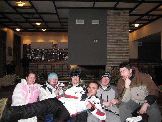 Snezhanka Apartments TMF: Our group in the lounge area