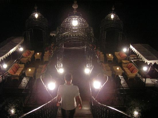 Taj Lake Palace Udaipur : Jetty by night