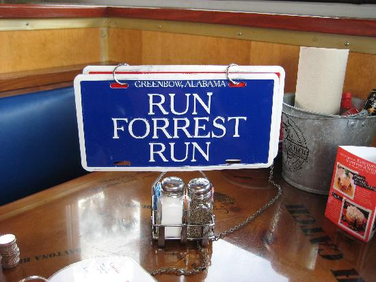 Bubba Gump Shrimp Co: turn it to get service