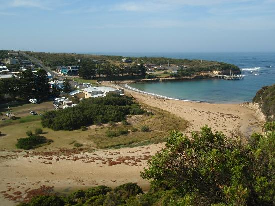 Port Campbell Parkview Apartments: View over Port Campbell