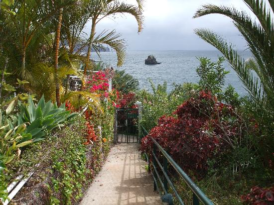 Madeira Regency Cliff: Hotel path to the promenade